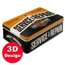 Harley Davidson Service and Repair- Embossed Storage Tin